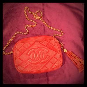 Chanel Vintage Quilted Tassel Bag